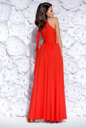 2106ef8140 ... Sukienka Wieczorowa Maxi Czerwona BI2124-02