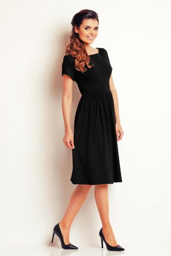 2d6f7b48d sukienki, klasyczne, czarne, midi, eleganckie, sklep, online, a141