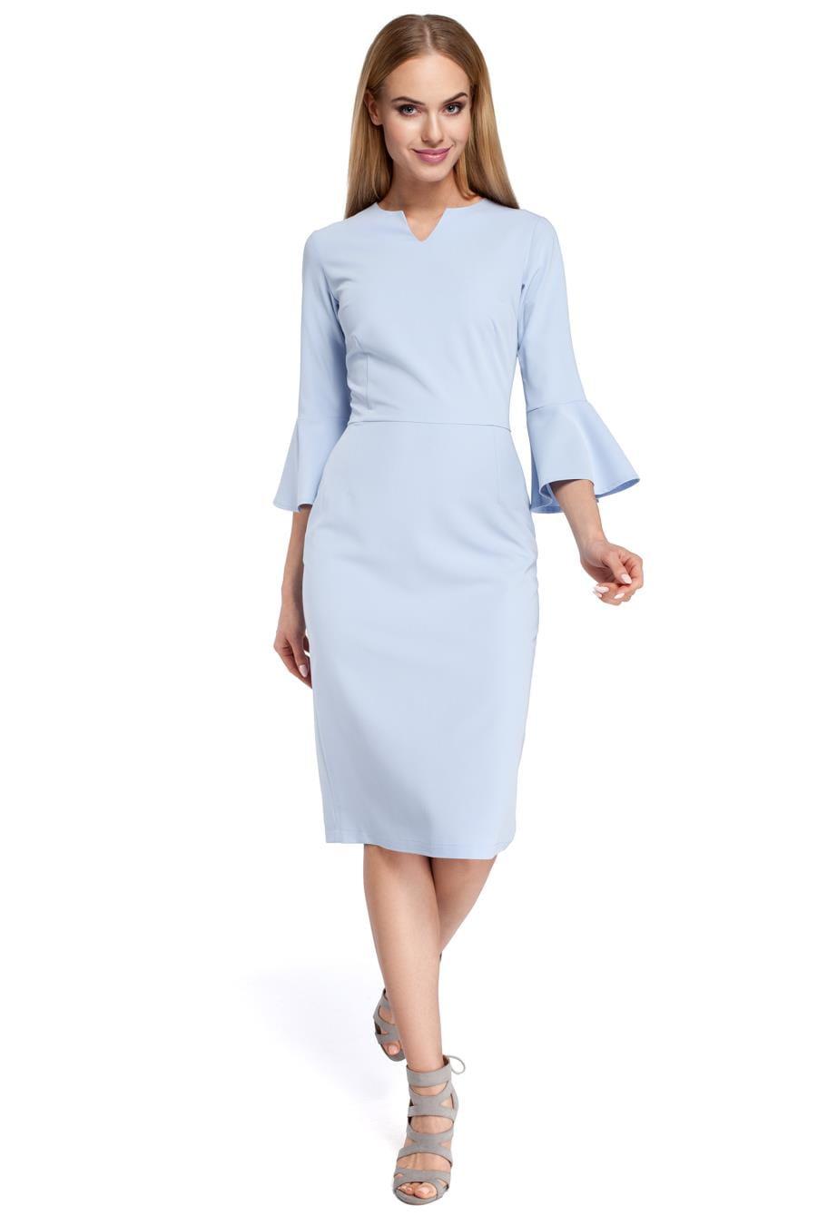 02be91986 ... sukienki, błękitne, klasyczne, ołówkowe, biura, pracy, sklep, online;  eleganckie ...