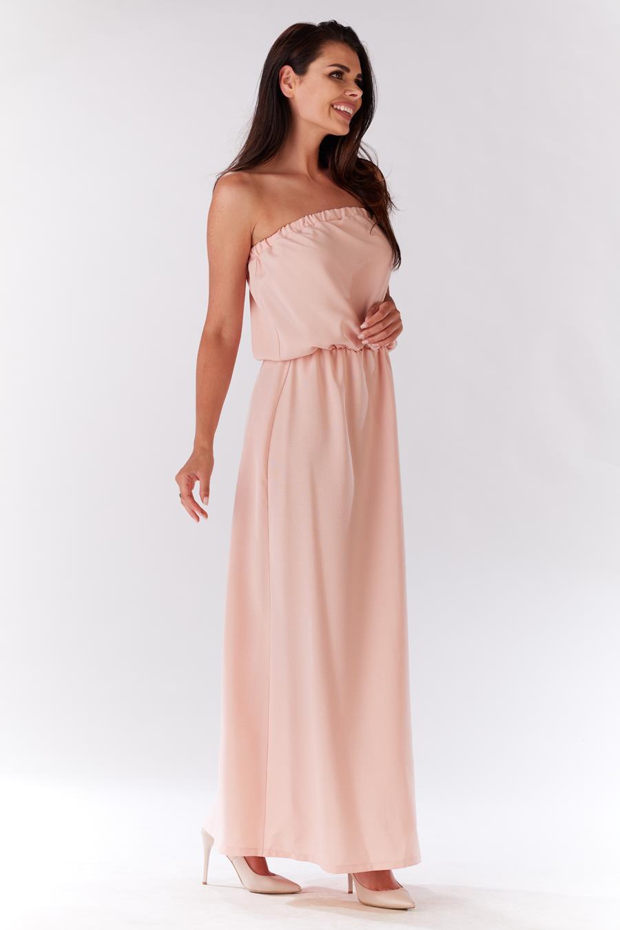 d4d10570408c52 M135, sukienka, infinite, you, pudrowa, letnia, sklep, online ...