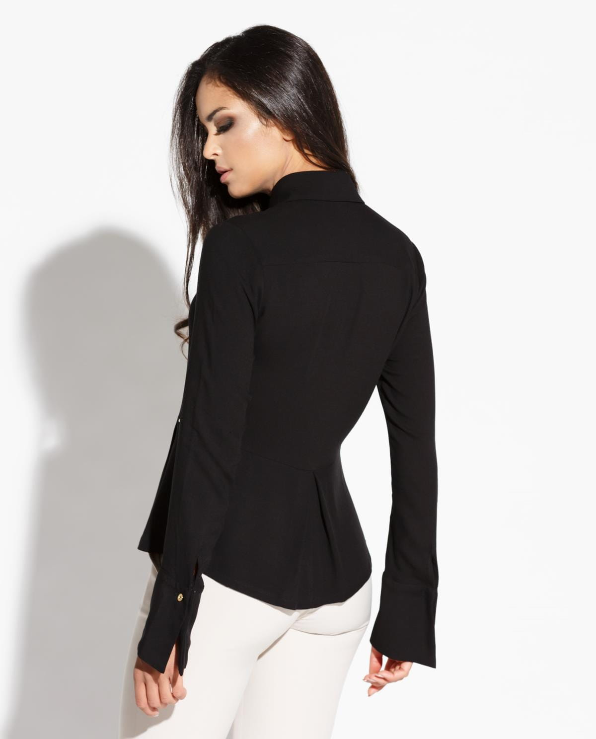 2e6639c331db26 ... koszula, damska, czarna, modne, biura, sklep, online, besima