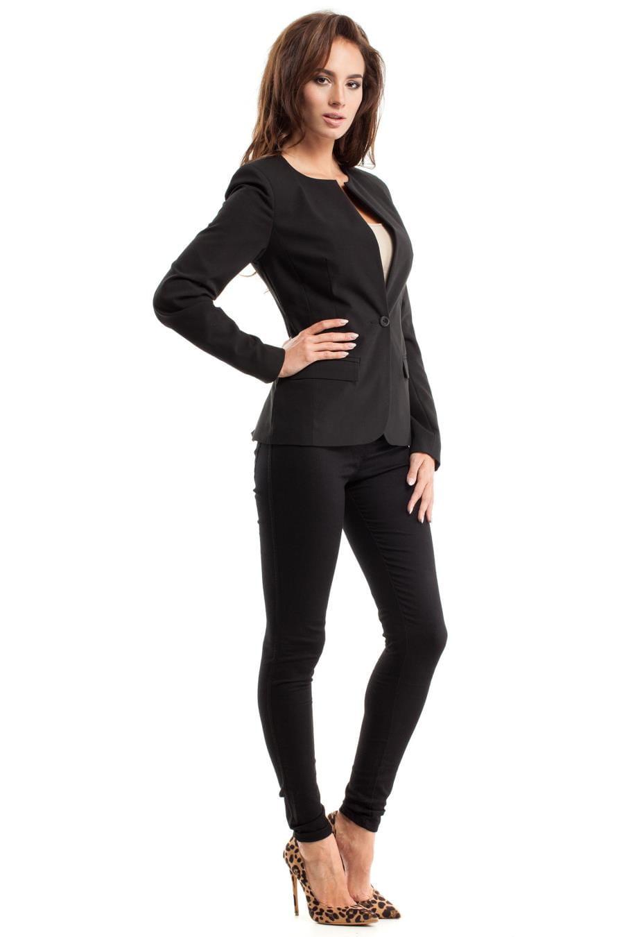 70d348810ba66 ... żakiety, damskie, czarne, spodni, biura, pracy, sklep, online, ...