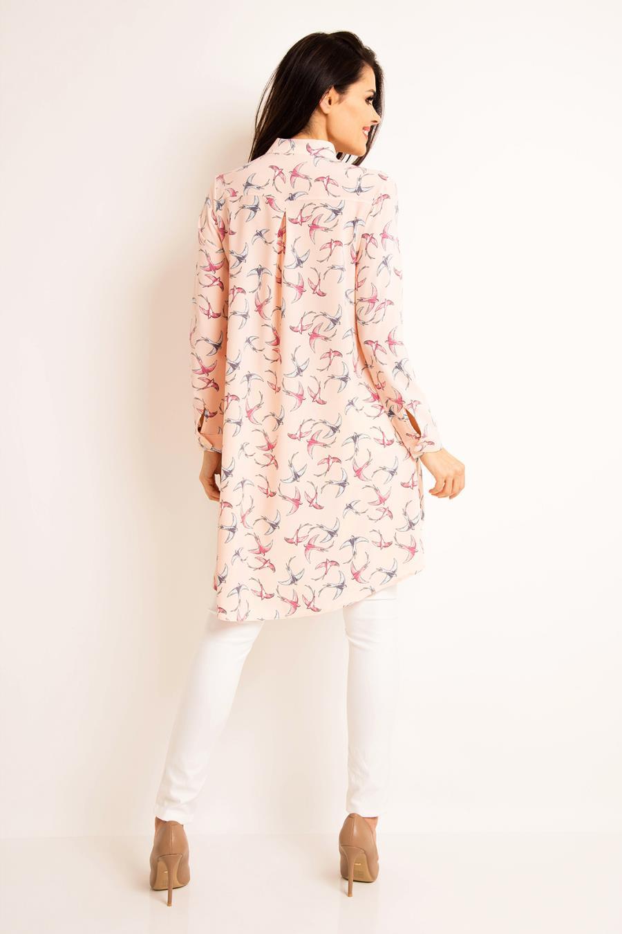 c5021aa99fc9f8 ... długie, koszule, damskie, letnie, asymetryczne, sklep, online