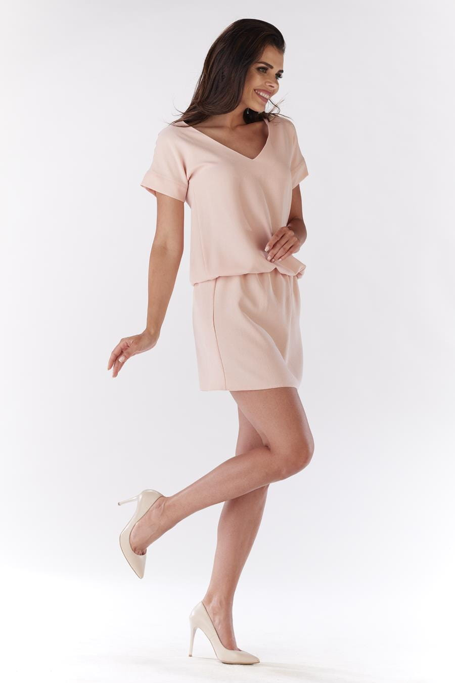 add110bbd7112f ... sukienki, letnie, dzienne, pudrowe, mini, sklep, besima, online ...