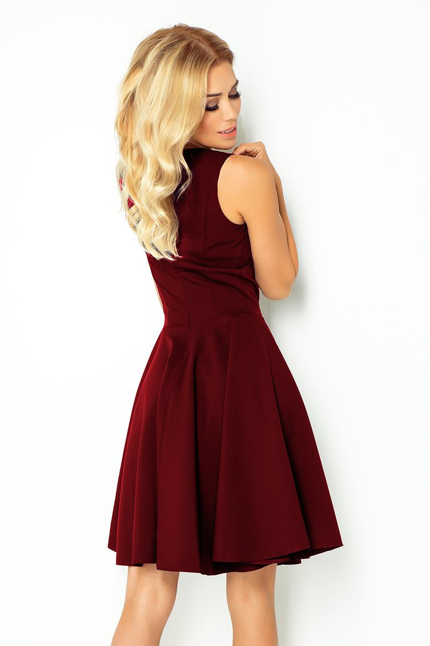 Sukienka z Koła Granat NU114 7 BESIMA.pl